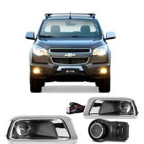 Kit Farol Milha Nova S10 Trailblazer 2012 2013 2014 2015 Bot