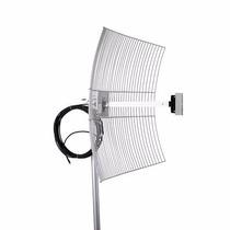 Antena Internet Grade 2.4ghz 25dbi + Cabo 10 Metros Rg58 Sma