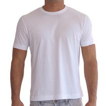 Lote 20 Camisetas Branca Pv Lisas Sublimação Silk