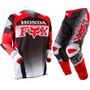 Kit Calça 42 E Camisa Grande Fox Honda 180 Trilha Motocross