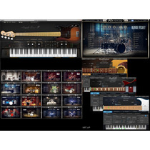 Pacote De Vsti Addictive Drums 2 + Ample Bass P + Guitarras