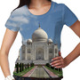 Camiseta Índia Taj Mahal Feminina