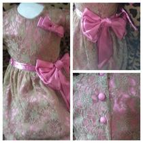 Vestido Infantil Festa Criança Princesa Pronta Entrega
