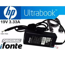 Fonte Carregador Ifonte Ultrabook Hp Pavilion 14-b080br