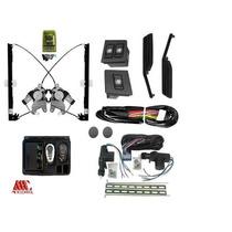Kit Vidro Eletrico Uno Antigo + Kit Trava 2p + Alarme
