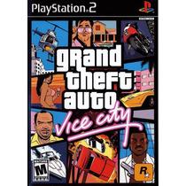Jogo Recon Gta Grand Theft Auto Vice City Playstation 2