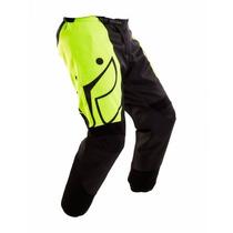 Calça Ims Start Verde Fluorescente Moto Motocross Tamanho 42