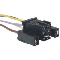 Chicote Cabo Soquete Plug Conector Vidro Elétrico Vw Gm 5via