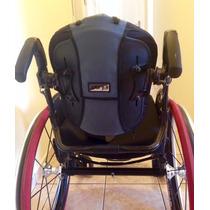 Cadeira De Rodas Quickie Q7 + Encosto Jay J3 + Rodas Spinerg