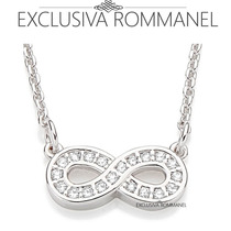 Rommanel Fio Cartier Símbolo Do Infinito 20 Zirconias 130308