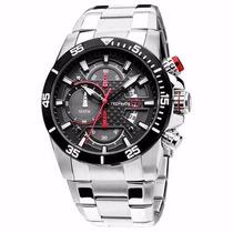 Relógio Technos Ts Carbon Os10er/1r. Frete Gratis