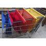 Kit C/ 4 Bags Sacolas De Supermercado