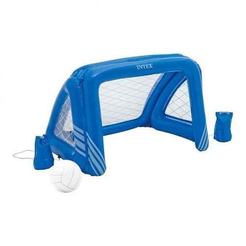 Trave Inflável De Polo Aquático Futebol Intex