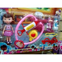 Kit Doctora Doutora Brinquedos Disney 7 Peças