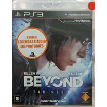 Beyond Two Souls Ps3 Portugues Novo Lacrado Envio Imediato