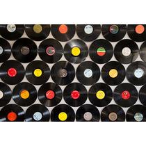 50 Disco De Vinil Lp Decoração Enfeite Festa No Centro Rj