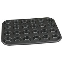 Forma Mini Cupcake Antiaderente 24 Cav Muffin Gateau Bolo