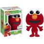 Boneco Elmo Flocked Vila Sesamo - Sesame Street - Funko Pop!