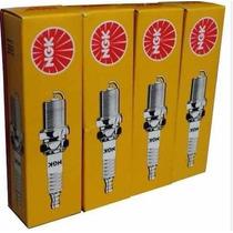 Jogo De Vela Ngk Para Fiat Idea 1.4 8v / Elx Flex Bicombustí
