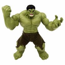 Boneco Hulk Verde Premium Gigante 55cm Articulado - Marvel