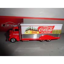 Miniatura Ford Coe Drin Coca-cola 100% Hotwheels 1:64 Loose