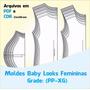 Moldes Baby Loocks + Curso Corte E Costura