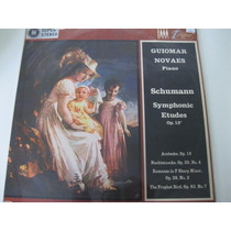 Lp = Guiomar Novaes - Piano - Schumann