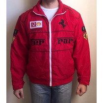 Jaqueta Ferrari Vermelha Tamanho L Fórmula 1 Com Etiqueta