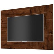 Painel P/ Tv 1500x1084mm Dj Móveis Dacota - Rústico Malbec