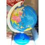 Apontador De Lapis Miniatura Globo Terrestre 15cm Mapa Mundi
