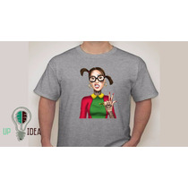 Camiseta Chaves - Vila Do Chaves - Personagens - Chiquinha