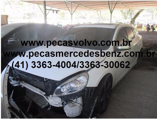 VOLVO V60 T6 TOP TURBO BATIDA PARA TIRAR PEÇAS/MOTOR/CAMBIO