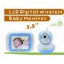 Babá Eletrônica Digibaby 3.5 Wireless D-8035b Cor Azul