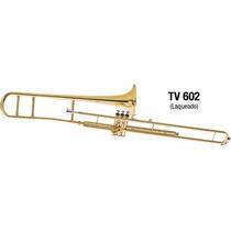 Trombone De Pisto Longo Sib Eagle Tv 602 Laqueado