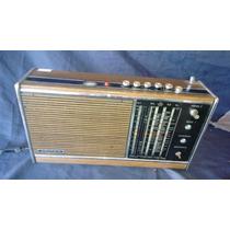 Lindo Radio Antigo Alemão Grundig Estilo Madeira