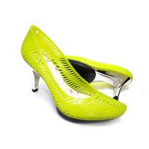 Sapato Para Festas Verde Neon Giovanna
