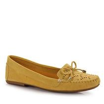 Sapato Mocassim Feminino Dariely - Amarelo