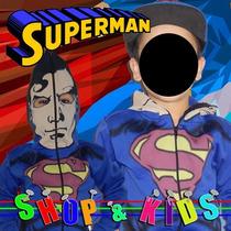 Fantasia Blusa Infantil Com Mascara - Superman