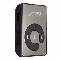 Mini Mp3 Player Espelhado Leitor Sd Cartão Memoria