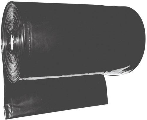 Lona Plástica Preta 6x100m Comercial + - 60mic