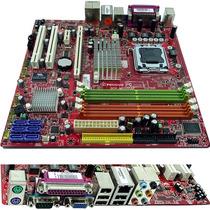 Placa Mãe 775 - Até 8gb Ddr2 - Chipset Intel Dvi - Garantia