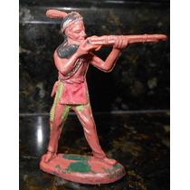 Forte Apache Gulliver Índio Com Rifle Nº 19