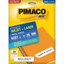 Etiqueta Carta 6281 Pimaco Cx C/ 25 Folhas 500 Etiquetas