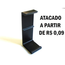 Clips De Proteção Preto C Espuma P Cartucho C/ 200 Unidades