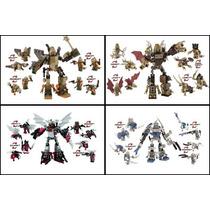 Bonecos Kre-o Transformers Micro Changers 4 Modelos