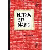 Livro Destrua Este Diário ( Capa Vermelha ) - Keri Smith