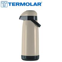 Garrafa Térmica Magic Pump 1,8l Bege / Marrom - Termolar