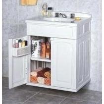 Gabinete Plastico Para Banheiro Gab Max Astra Branco C\cuba