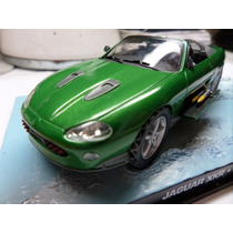 Jaguar Xkr Serie James Bond Universal Hobbies 1:43 11 X 4 Cm
