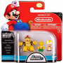 Boneco Micro Land Super Mario Bros U Bowser+koopa+toad